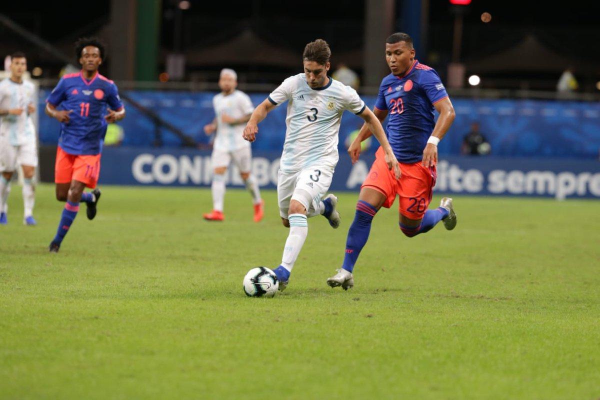 Dura derrota en el comienzo de la Copa América