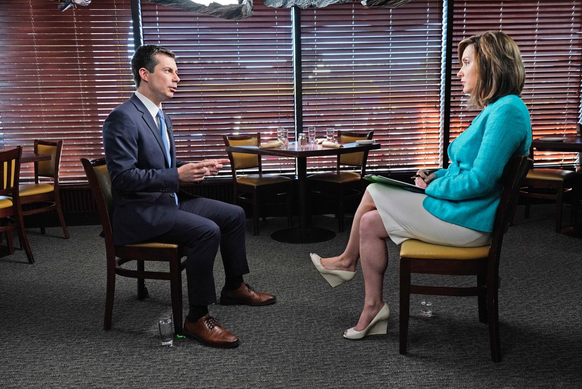 """In a @FaceTheNation interview, Mayor @PeteButtigieg, 2020 Democratic presidential candidate, responds to President @realDonaldTrump's comments on foreign election help: """"Just call the FBI.""""  https:// cbsn.ws/2KiYmsX    <br>http://pic.twitter.com/GRy52bycij"""