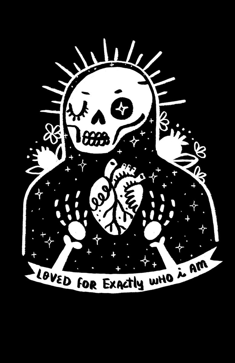 Excited to announce the relaunch of our store & the first of our special LE designs we commissioned to support orgs that share our mission and target specific needs within their communities - first up is our Santa Muerte tee to benefit @TransLifeline! ➡️https://thegooddeathstore.com