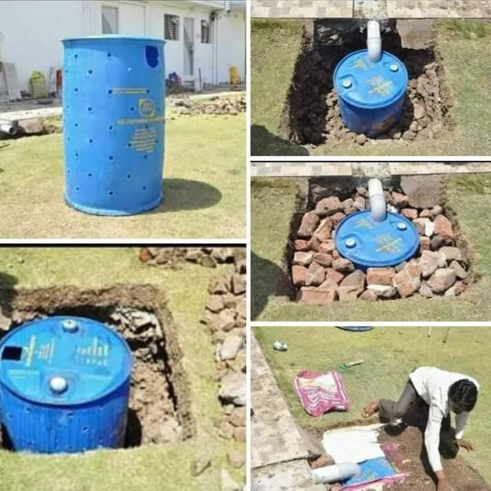 गिरते हुए वाटर लेवल बढ़ाने के लिए एक एक बूंद बचाने की जरूरत है| छत के पानी को ऐसे वापस जमीन मे भेजें|जो भी पानी हम बहा रहे है अगर वो वापस जमींन में जायेगा तो पानी की कमी से बचा जा सकता हैं। #savewater #needwater  #save_water_for_your_future_family #M_D_Group_Yuva_Shakti