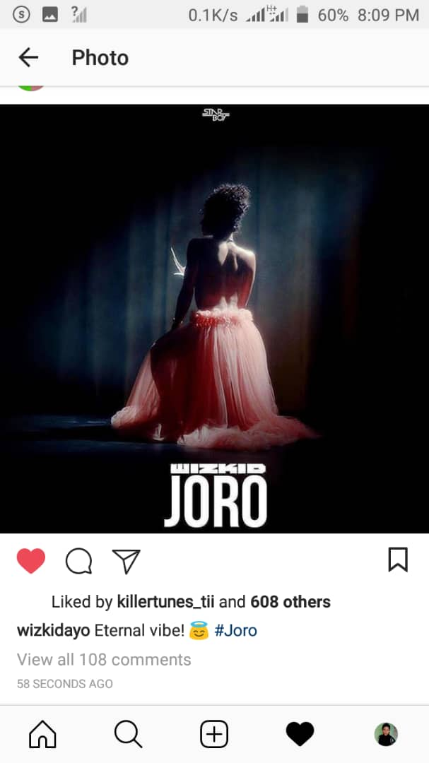 Starboy first single of the yr is about to drop..   Happy new year to we wizkidfc   Hope u all are happy about dis? #wizkidjoro<br>http://pic.twitter.com/AMGtXip7O5