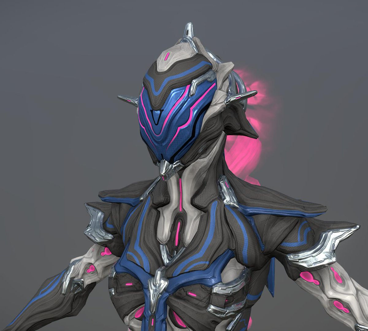 Wisp Diva is done. As Baruuk, I will post her on the workshop once the whole set is done (warframe + syandana + weapon). But I still share some pics and the model on sketchfab :  https:// skfb.ly/6LsAR      #warframe #tennogen<br>http://pic.twitter.com/WJUCB8UIIX