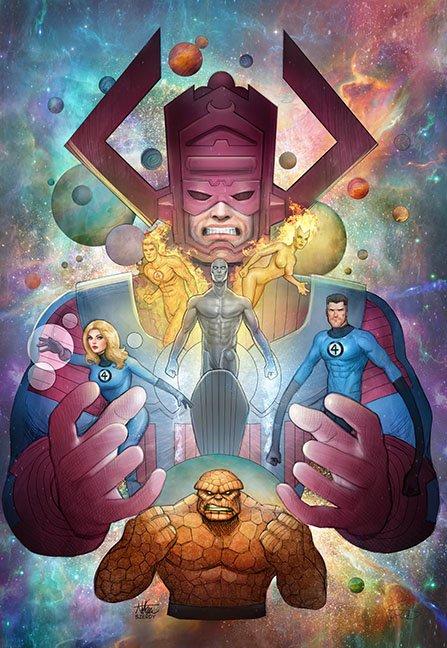 Fantastic Four U by Nszerdy #comicart