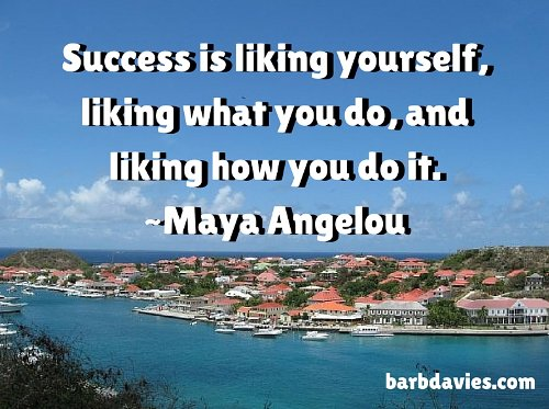 Success is liking yourself, liking what you do & liking how you do it. - Maya Angelou #personaldevelopment <br>http://pic.twitter.com/xL1xCyRBPr