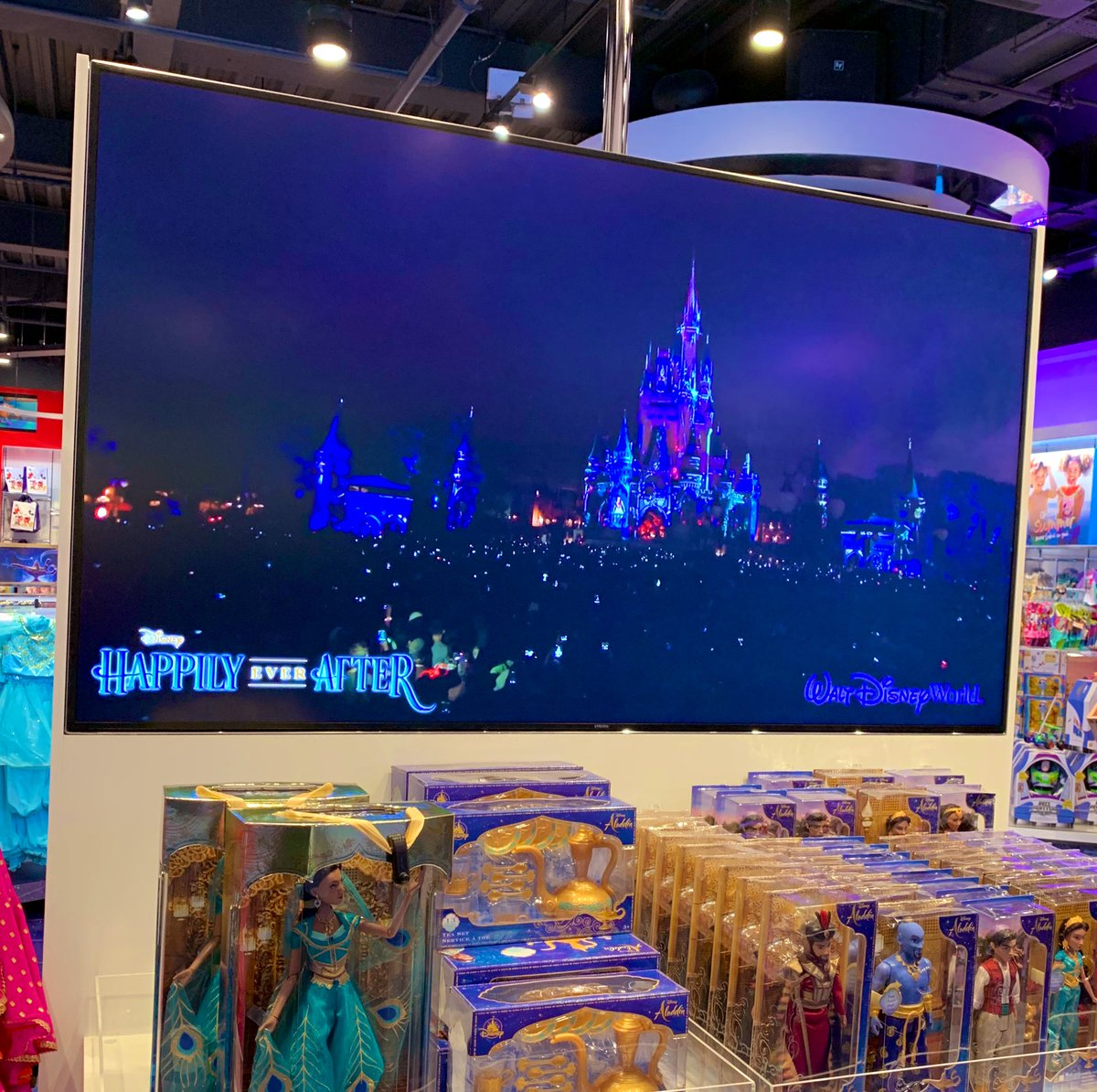 Happily ever after playing in the Disney store at Bluewater today, I'm getting some serious WDW withdrawal symptoms now! #Disney #happilyeverafter <br>http://pic.twitter.com/7ZlVyqV0Yu