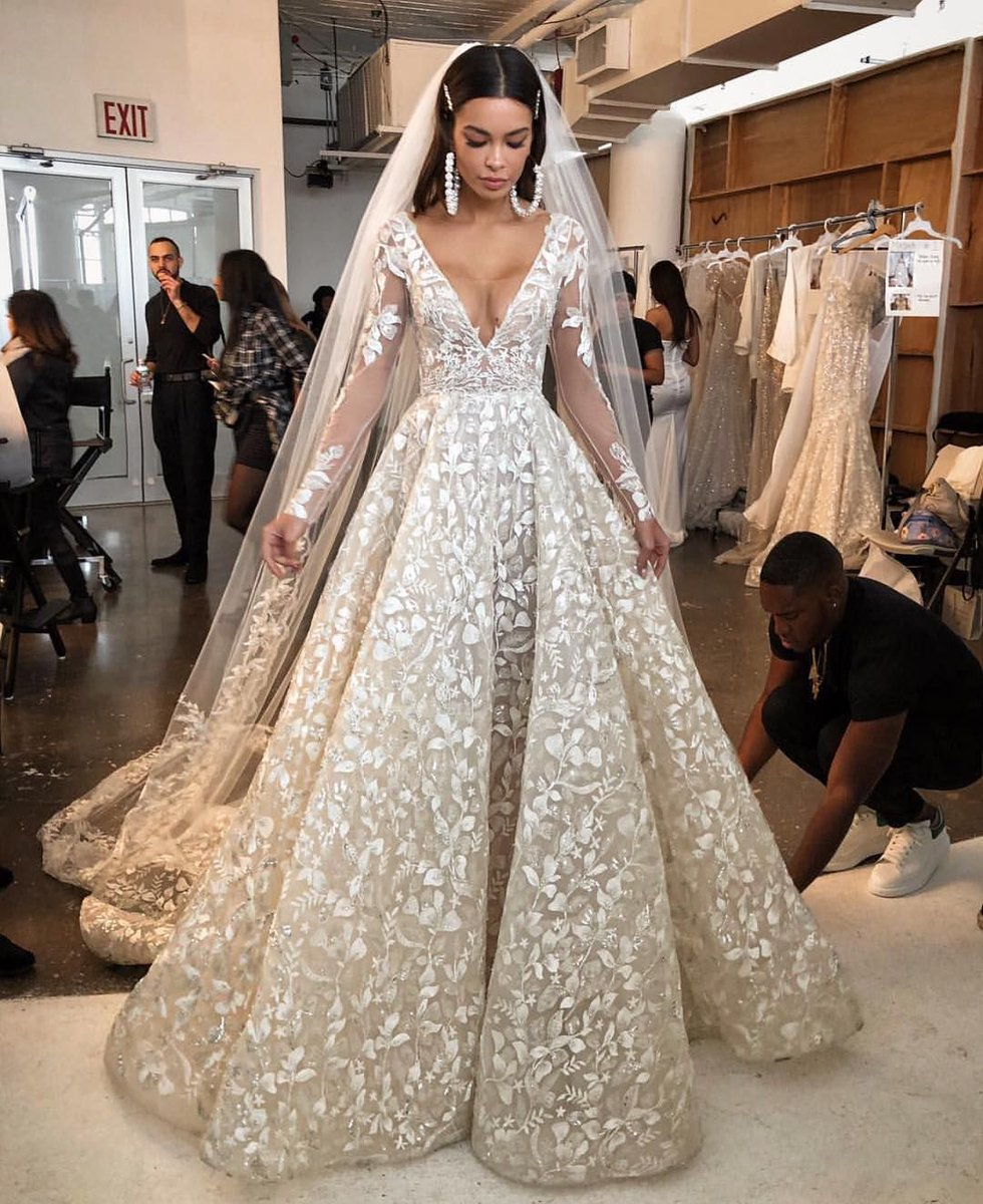 Get this #bridal #designs made to order as shown or with changes in any size you need. Our #American dress company can also make really close #replicas of #couture #weddingdresses.  Our version will have the same look & feel as the original but cost way less.