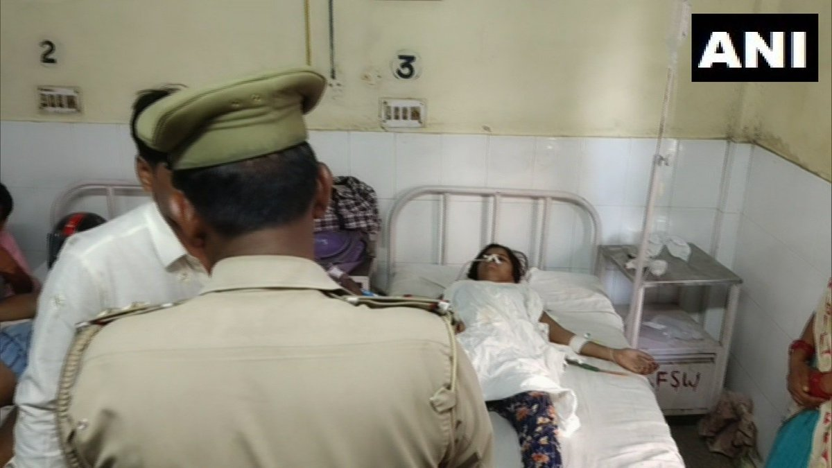 "Shahjahanpur: A 15-yr-old girl of Hathoura under Roja Police station limits was allegedly stabbed by her father & thrown in a canal y'day. She says, ""My father wanted to marry me off, I had rejected his proposal as I wanted to study. He stabbed&threw me in a canal"""