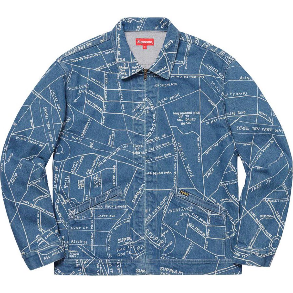 #Supreme #Gonz map blue Size medium for sale #SaturdayMorning #hypebeast #follobackforfolloback #Caturday #FathersDay  #AMJoy <br>http://pic.twitter.com/IV1f6roh2w