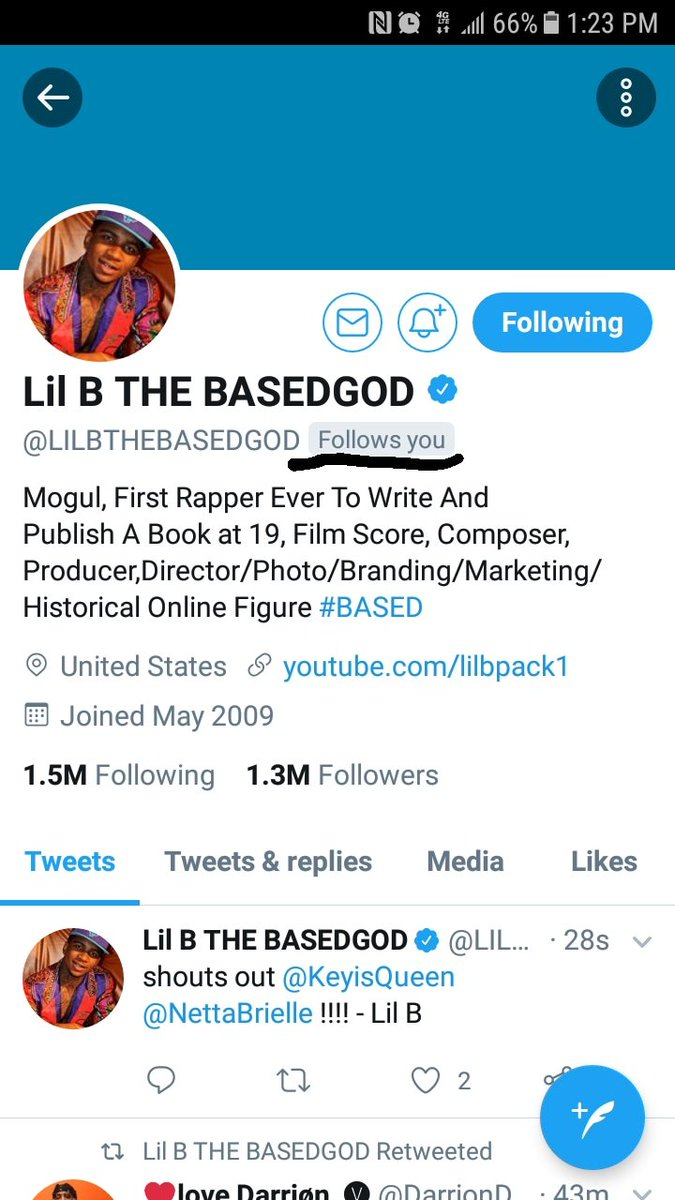 Still the most important achievement in my life @LILBTHEBASEDGOD
