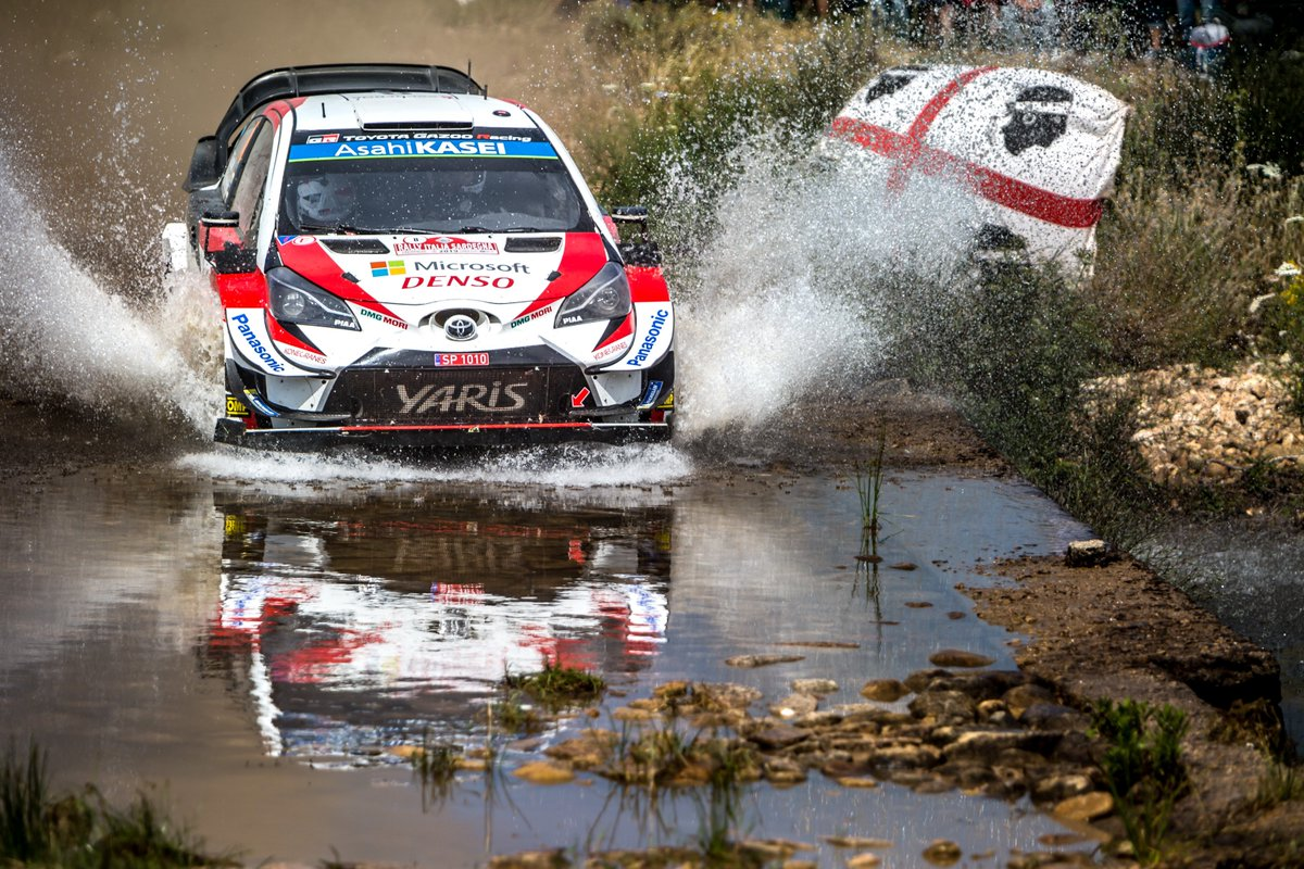 #WRC - Toyota's @OttTanak confirmed his domination by winning all 3 stages that made up the loop before returning to service in Alghero 🇮🇹⬇ https://www.fia.com/news/tanak-controls-field-sardinia-sordo-second…