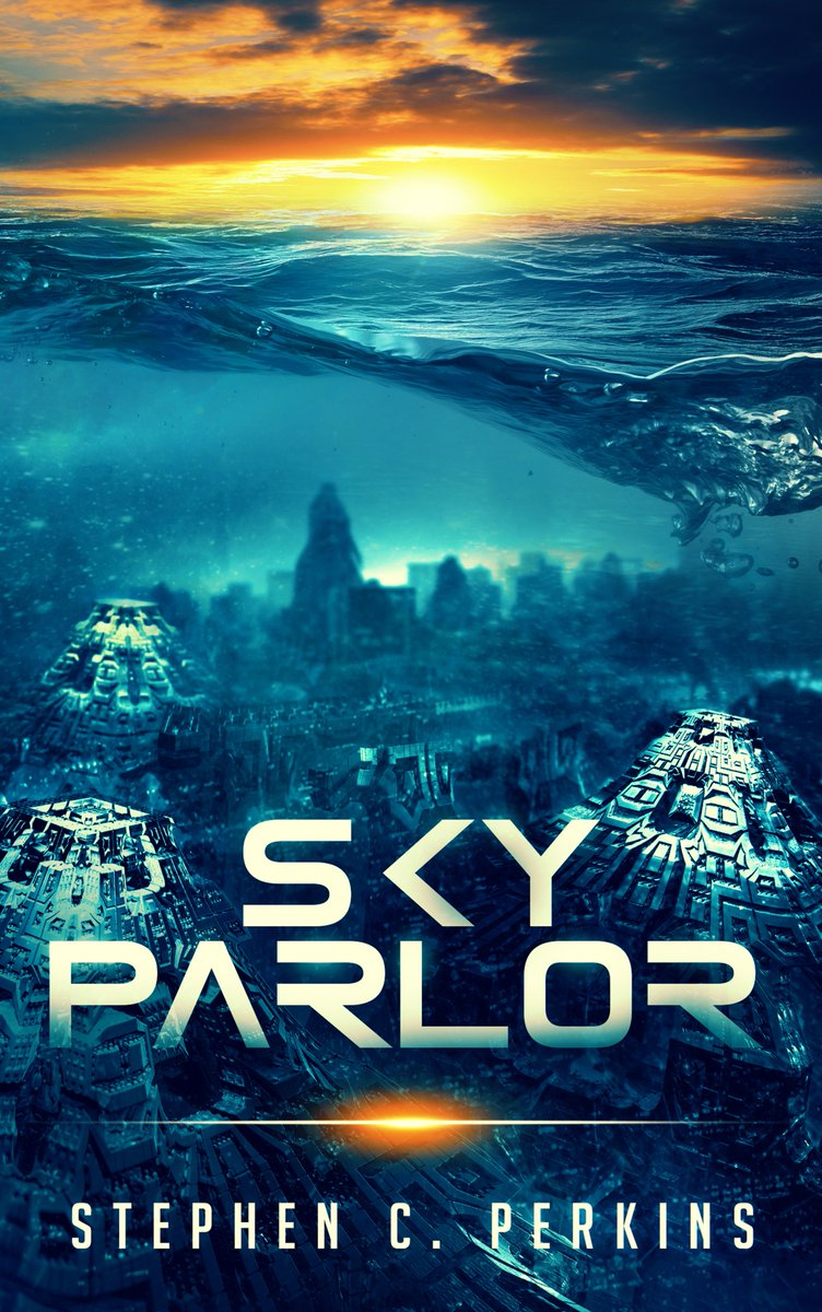 #Perfect #FathersDay GIFT for the #scifi #fantasy fan!  A brilliant journey!...Amazon Revewer ***** GET #Amazon #hot #NewRelease #SKYPARLOR NOW! @ http://amzn.to/2Wh4ich  Two ancient gods... Will Sky Parlor become their final battlefleld?