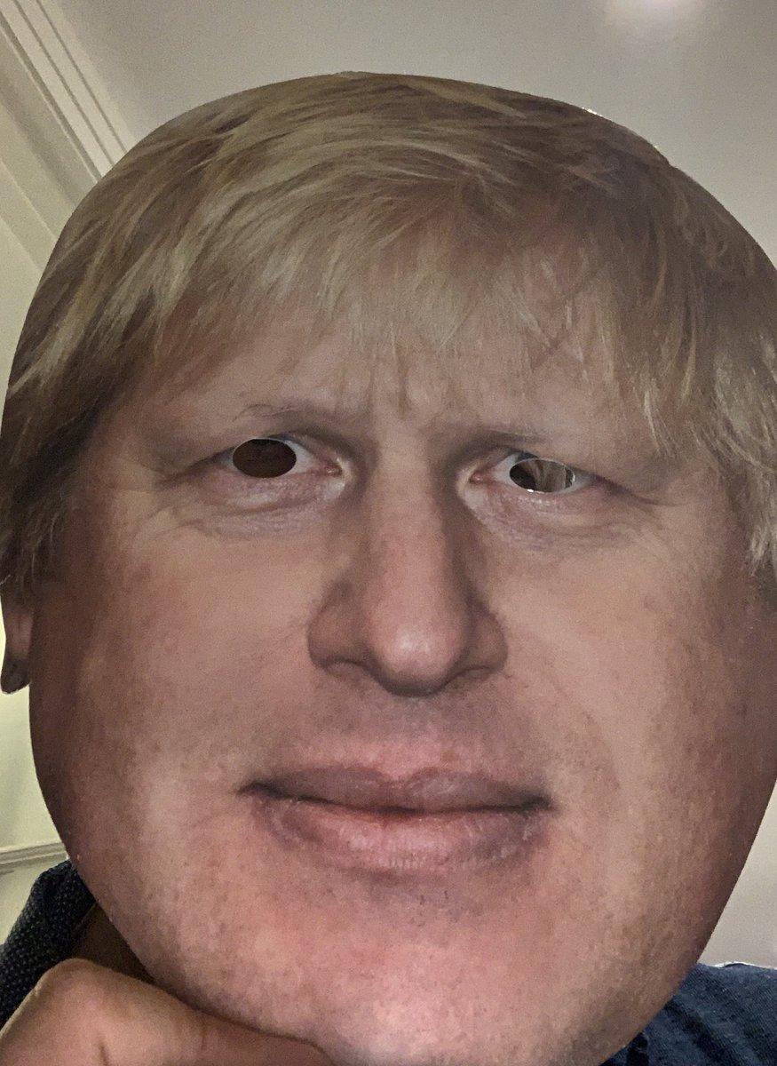 @AgedShoutout @BorisJohnson That's quite a presumption. How do you know I'm not Boris in disguise?