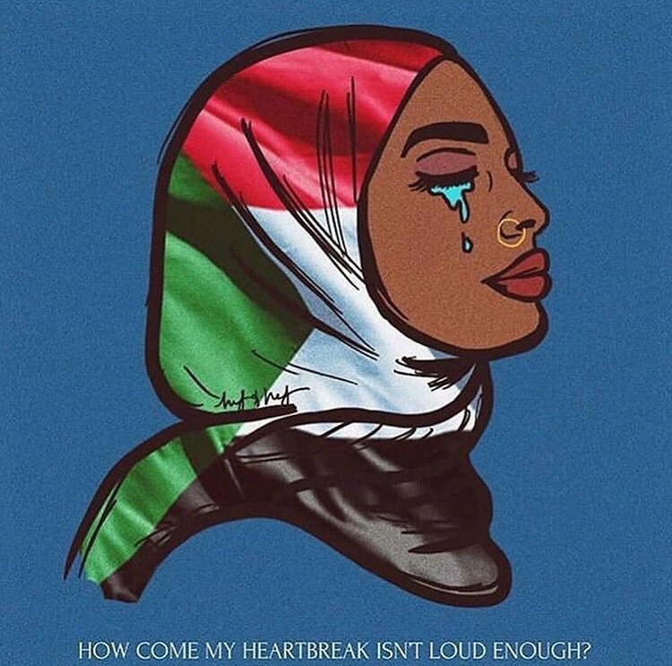 Sudan is bleeding and the world is silent                                #sadworld                              #SudanMassacrSudan<br>http://pic.twitter.com/aYycli60wi