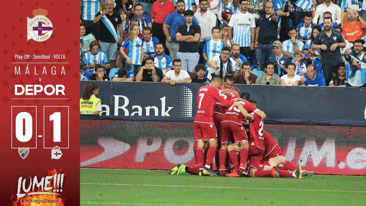 La Corogne s'impose à Malaga et rejoint la finale des play-offs