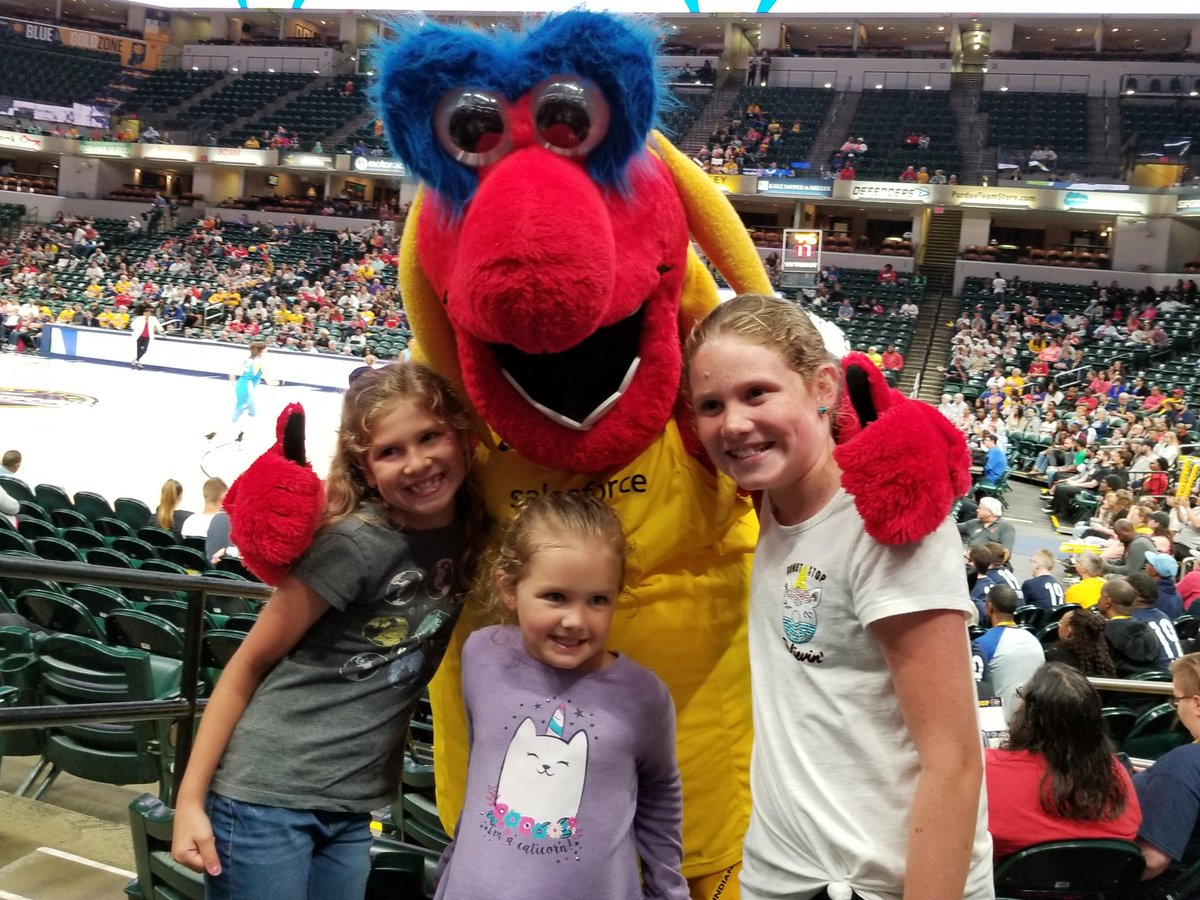 First Fever Game!  #IndianaFever