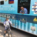 """Image for the Tweet beginning: #STLPolarCops """"Popped Up"""" in the"""