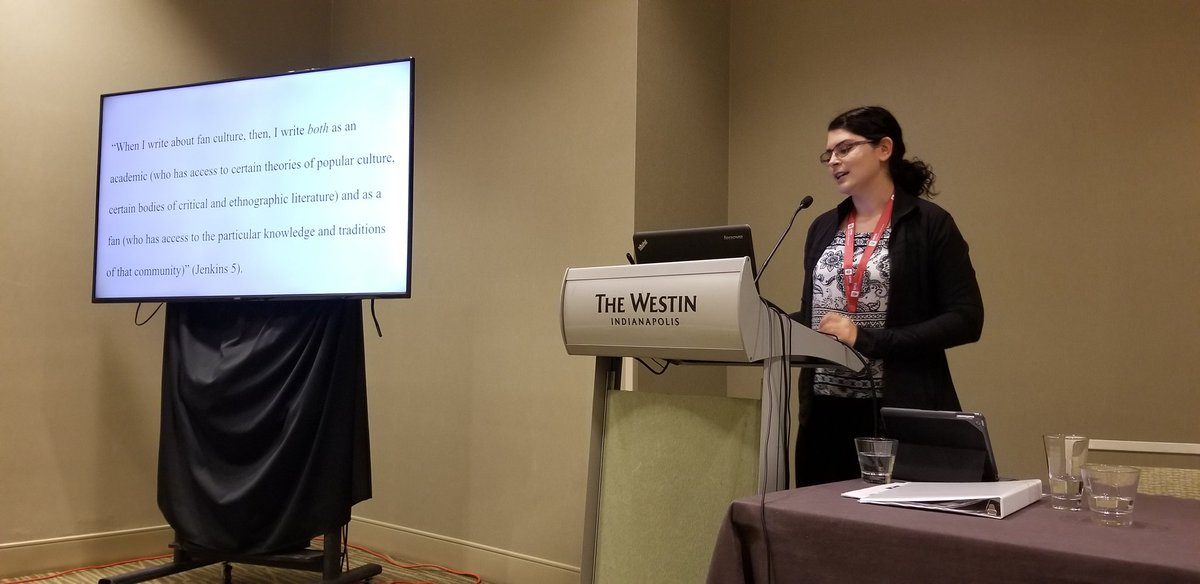 Loving this presentation from panel buddy @evereducating on YA fanfic / shippers & queer romance #ChLA19