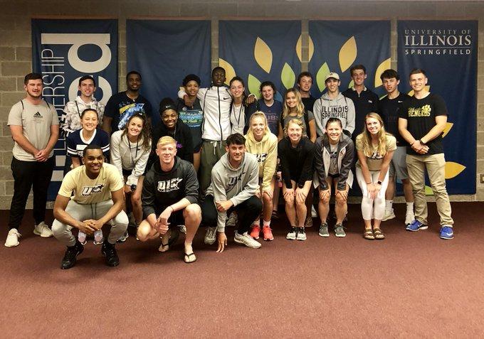 RT @UISAthAcademics: It is always exciting to welcome new Prairie Star student-athletes to UIS during KickStart.💫 #WeAreStars #BeStellar ht…