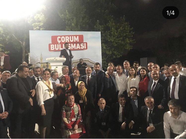 Çorum Dernekler Federasyonu Başkanlığına düzenlemiş oldukları program için teşekkür ederim. Birliğimiz daim olsun. #DevletBahçeli #MHP #Esenler