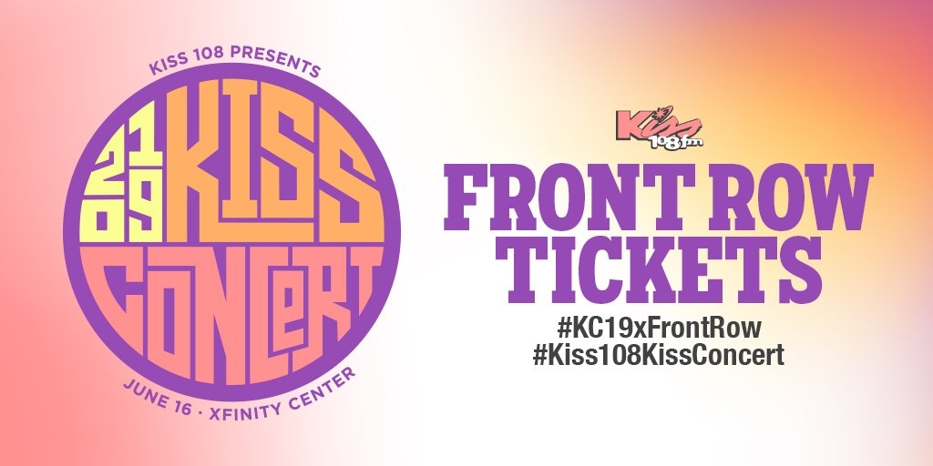 @Kiss108's photo on #KC19xFrontRow