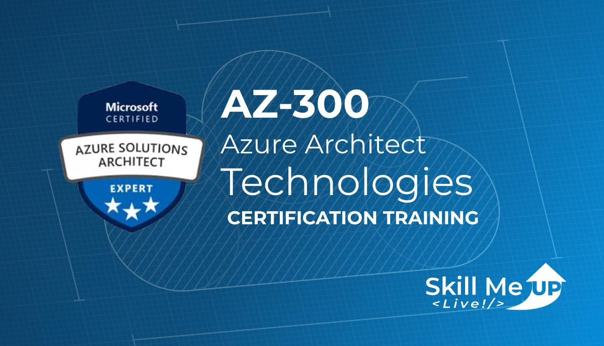 Live Instructor-led Architecting Azure Solutions course begins July 10th!  Prep for your first exam of the #Azure #Certification AZ-300 with #Architect experts @SocialMediaProd @UndiscoveredDev @ciphertxt @sidney_andrews & @AdnanCartwright   Enroll today! http://skillmeup.com/Live/Plan/67