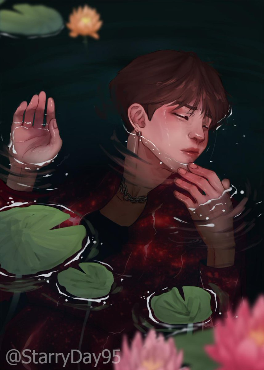 [- Dʀᴏᴡɴᴇᴅ ɪɴ ᴍᴇᴍᴏʀɪᴇs ᴀғᴛᴇʀ ᴛʜᴇ sᴇᴇsᴀᴡ ɢᴀᴍᴇ ]  i know the quality of this is not good since the pixel size of this file is too small forgive me ;( also, idk how to draw water #bts #btsfanart #yoongi #suga #seesaw @BTS_twt #yoonkook<br>http://pic.twitter.com/0KOfYqAh96