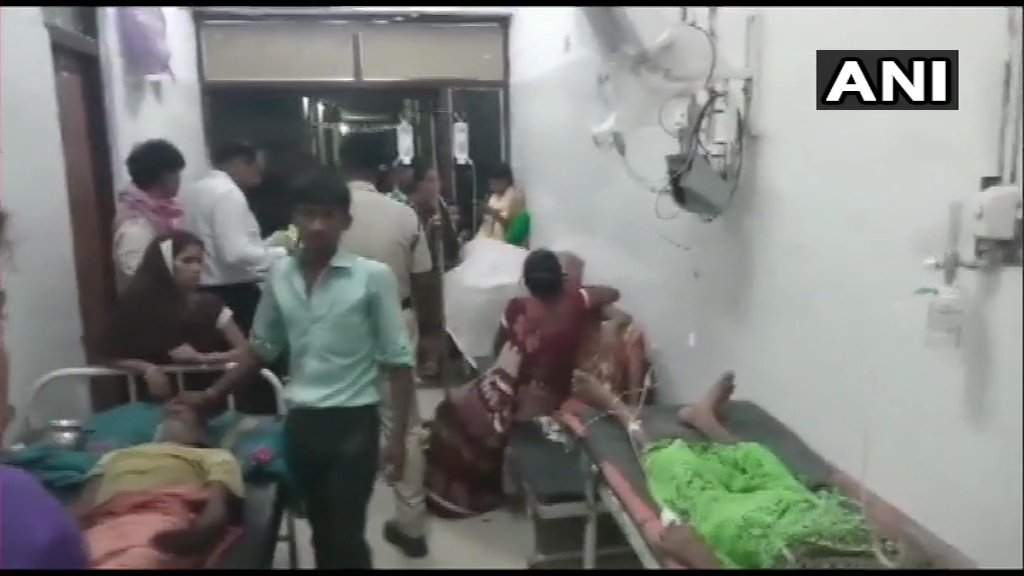 "Bihar: 12 people died due to heat stroke at Anugrah Narayan Magadh Medical College in Gaya. DM says ""Out of the 12, 7 were from Gaya, 2 from Aurangabad, 1 from Chatra, 1 from Sheikhpura and 1 from Nawada. 25 patients are admitted here, efforts on to bring them back to normalcy."""