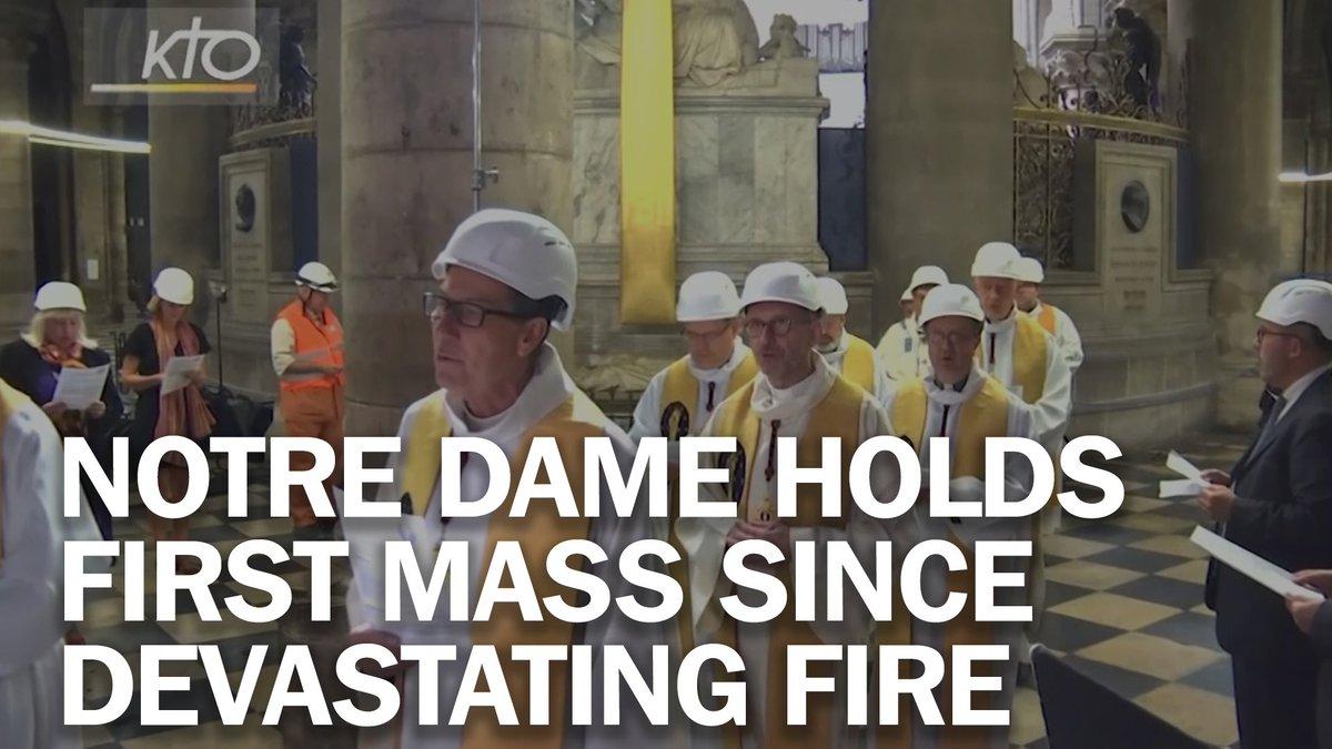 Notre Dame celebrates first mass since devastating April fire mag.time.com/JS3IxNj