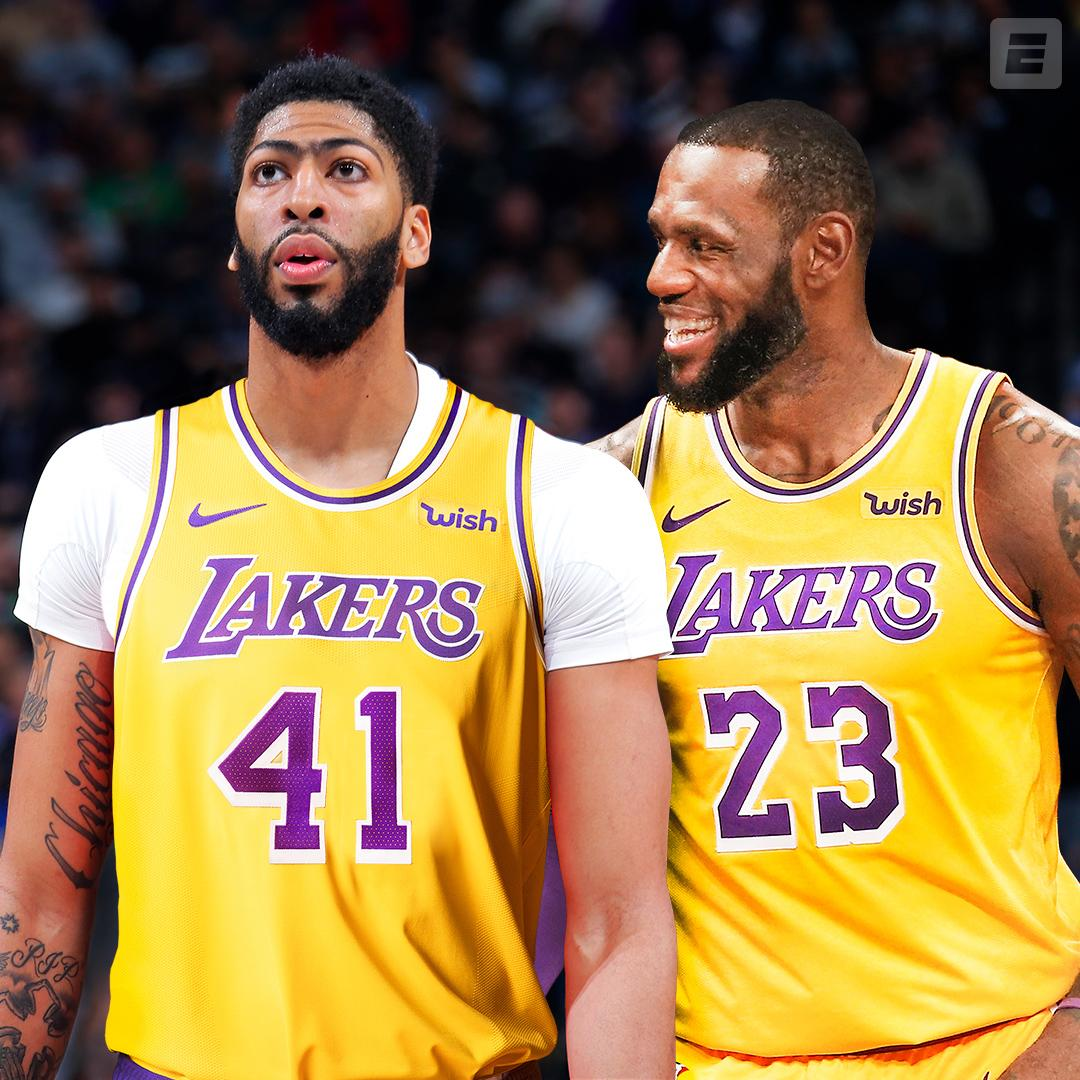 LeBron and Anthony Davis in LA 👀  It's happening, per @wojespn.