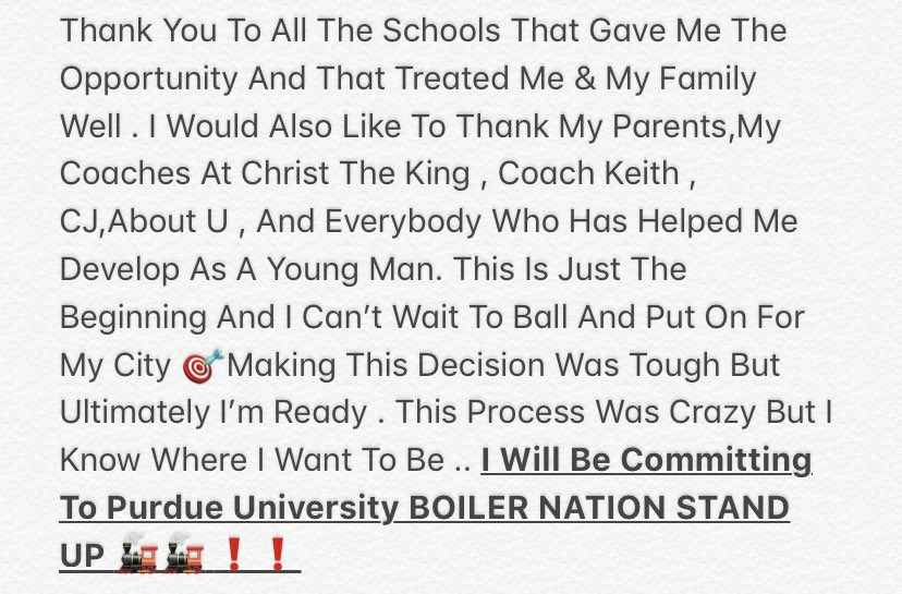 Tirek Murphy, No. 18 RB In 2020, Announces Commitment