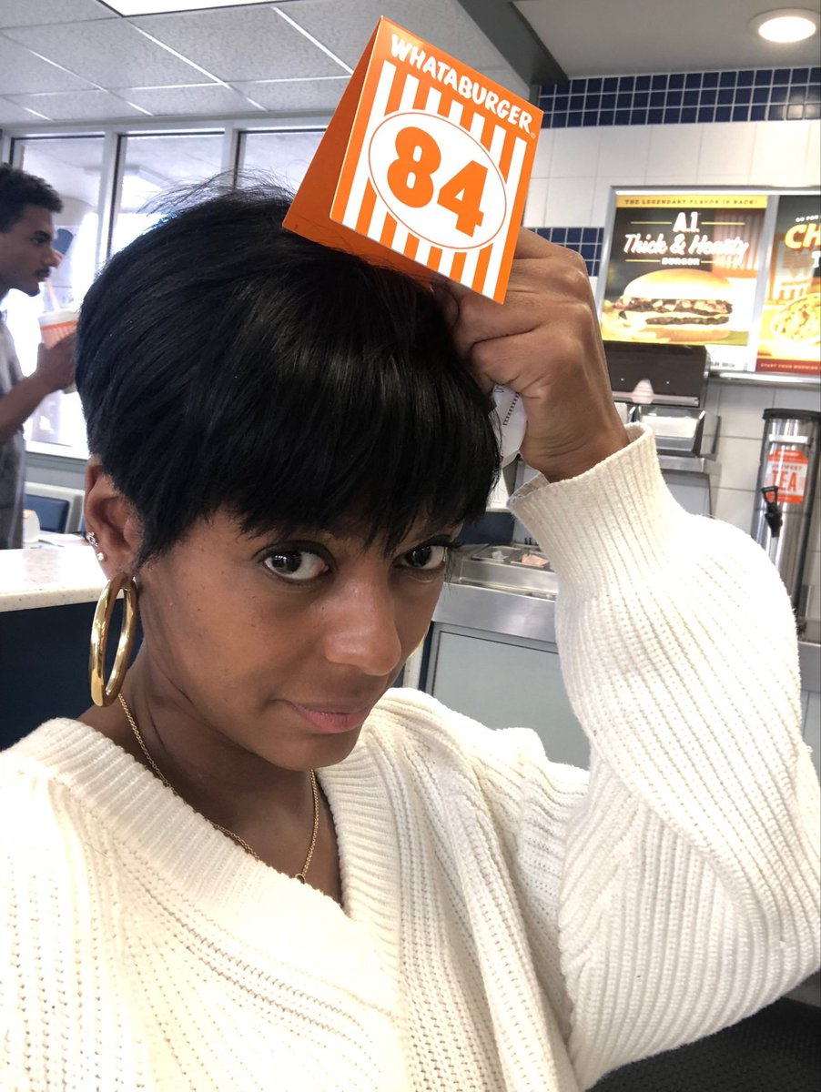 I wear my feelings about @whataburger on my sleeve and clearly on my head. #whataburger a #texas tradition. Having lived in Chicago I do love yall but we will be watching 🧐