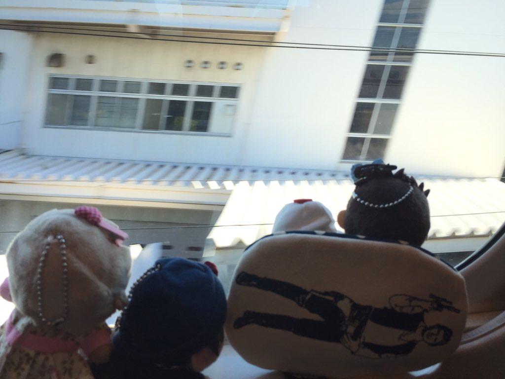 #あむぬい #ぬいすたぐらむ    #東京ぬい旅    京極さんは晴れ男なので、富士山もバッチリ見えました。