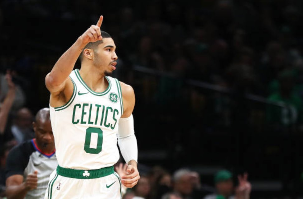 The Celtics wouldn't make Jayson Tatum available in discussions with the Pelicans, per @TheSteinLine