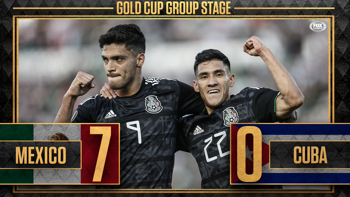 @FOXSoccer's photo on #GoldCup2019