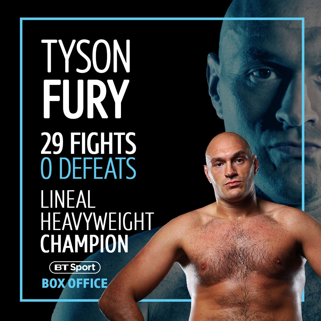 @BTSportBoxing's photo on The Gypsy King