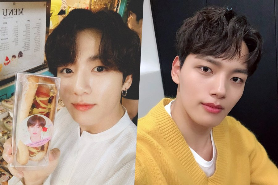 #BTSs #Jungkook Thanks #YeoJinGoo For Sending Support To Fan Meeting soompi.com/article/133237…