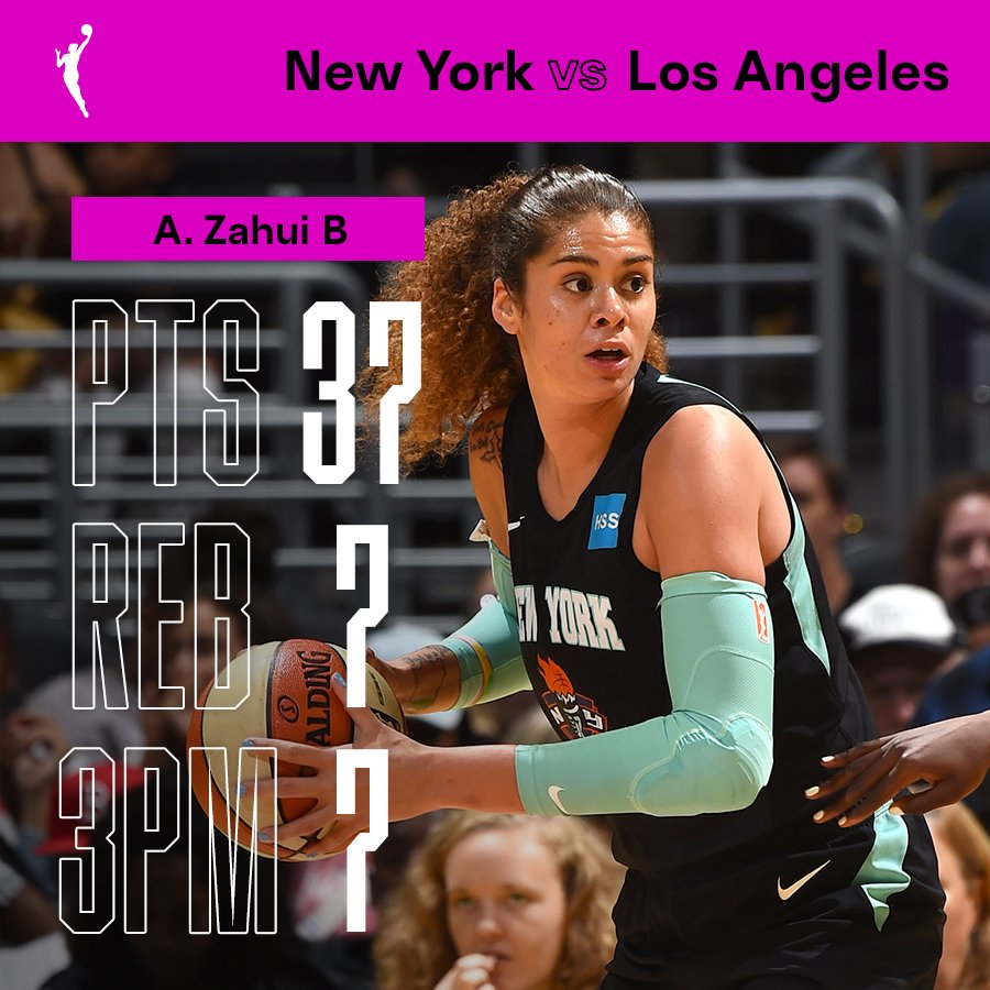 37. 7. 7. 🔥🔥🔥 @AmandaZahuiB with the #WNBA season-high in points 💯
