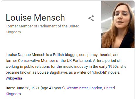 @LouiseMensch Conspiracy Theorist, Lives in United Kingdoms, Member of Parliament. What is it you have to gain from spreading lies about multiple Democratic Candidates? #YangGang #HumanityFirst