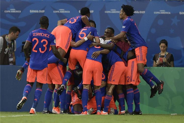 هدف كولومبيا الثاني في مرمى الأرجنتين في كوبا أمريكا