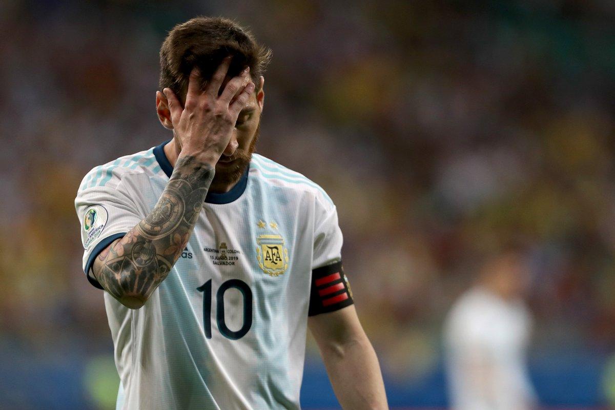 КА. Аргентина - Колумбия 0:2. Когда у сборной нет тренера, и Месси не поможет - изображение 6