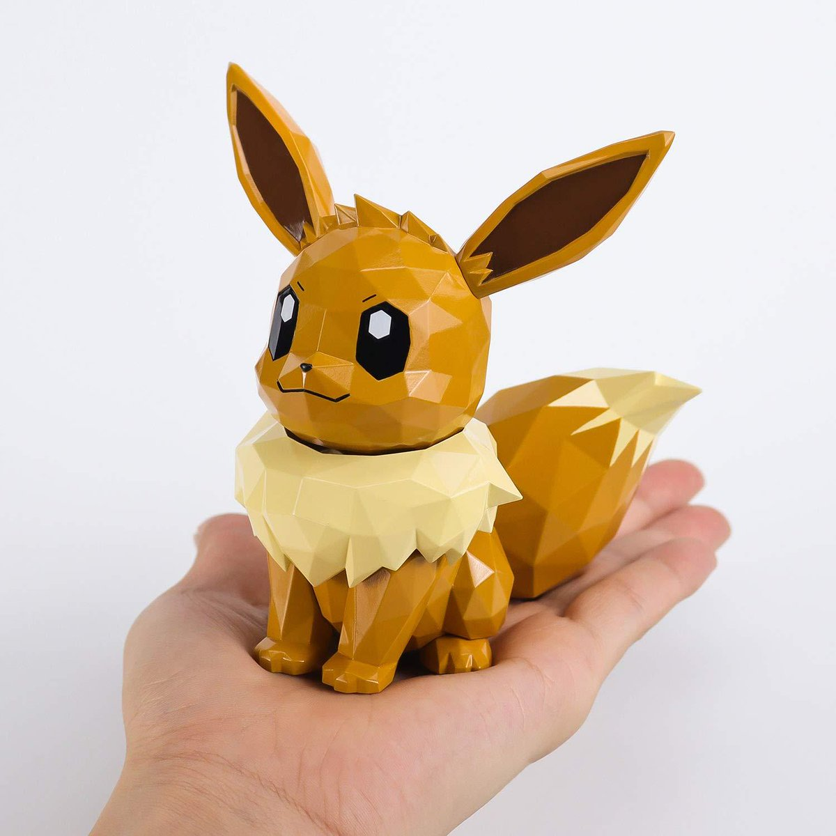 Larger POLYGO Pokémon Eevee figure also announced, releases November 30 and also available for international shipping 💸 Little pricey, but definitely adorable! amzn.to/2IjmCcd