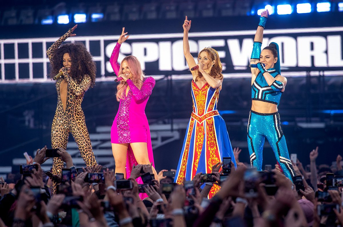 Spice Girls Tour Concert Video Reunite UK For 2019 UK Tour