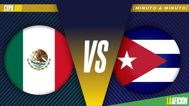 México derrota 7-0 a Cuba en la Copa Oro Fase de Grupos 2019