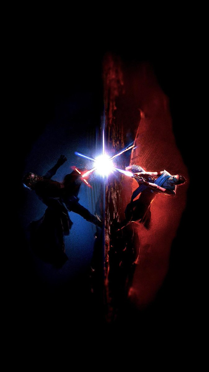 La portada del arte visual de #TheRiseOfSkywalker es una maravilla.  Menudo portadón. Nunca lo voy a superar. #StarWars 😍😍😍