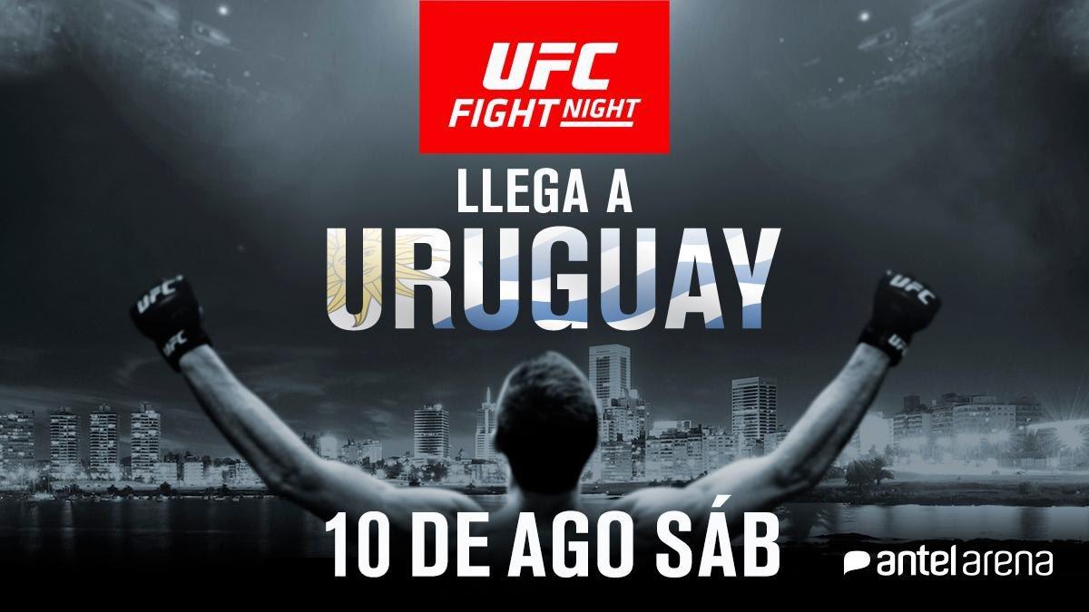 Come on! No one wants to throw hands in Uruguay?! @ufc @AliAbdelaziz00 @seanshelby   ¿qué está pasando?  ¿alguien quiere pelear en uruguay? @UFCEspanol ?!