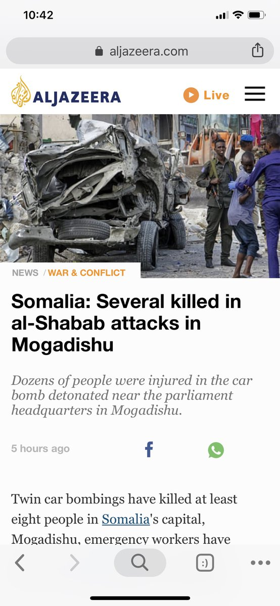 Please keep Somalia in your prayers!!!