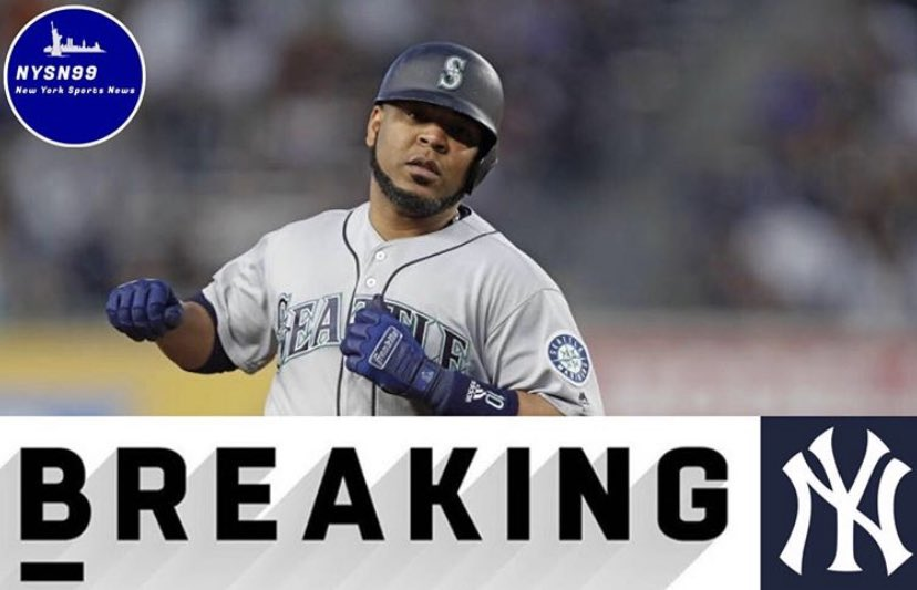 Breaking: The Yankees have acquired Edwin Encarnacion from the Mariners for pitching prospect Juan Then #Yankees #trade