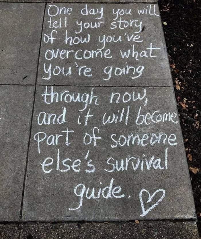 #oneday #you will #tellyourstory of how you've #overcome what you're going through no, and it will #become part of someone else's #survivalguide   #quote #quotes #quotesforlife #quotesaboutlife #quotestoliveby #quotestoinspire #quoteoftheday #inspiring #inspiringquotes<br>http://pic.twitter.com/fAyyX0X2pw