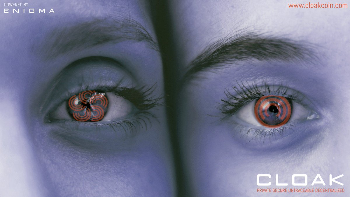 Morning CloakCoin.  Two faces, one #cryptocurrency. Strong, already audited (@Cognosec) #privacy tech & at the same time a fully auditable total supply. Your verifiable & private store of value.  3 days remain🔥https://www.cloakcoin.com/en/blog/enigma_competition…  $CLOAK #privacycoin #blockchain #crypto $BTC