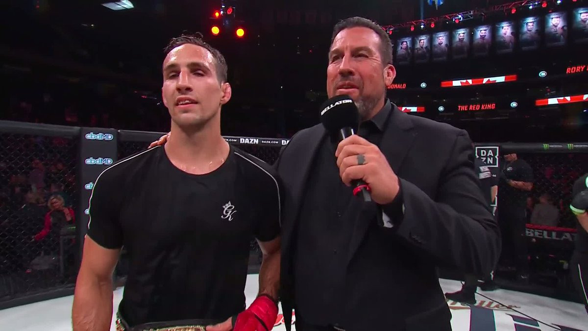 """Image for the Tweet beginning: """"That's a toughie!"""" @Rory_MacDonald reminisces"""